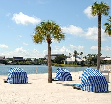 Beach, Sand, Relaxation, Summer, Water, Travel