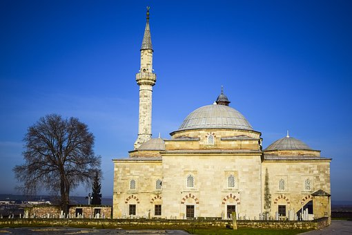 Muradiye, Cami, Edirne, Architecture, Travel, No One