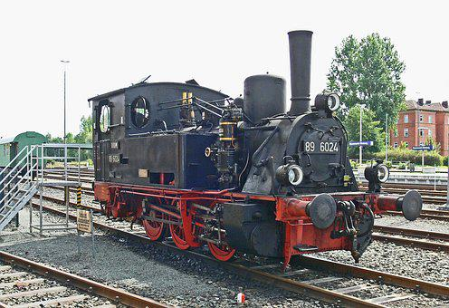 Steam Locomotive, Upper Franconia, Museum Locomotive