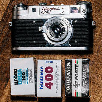 Zorkij, Ussr, Rangefinder, Lens, Shutter, Obsolete