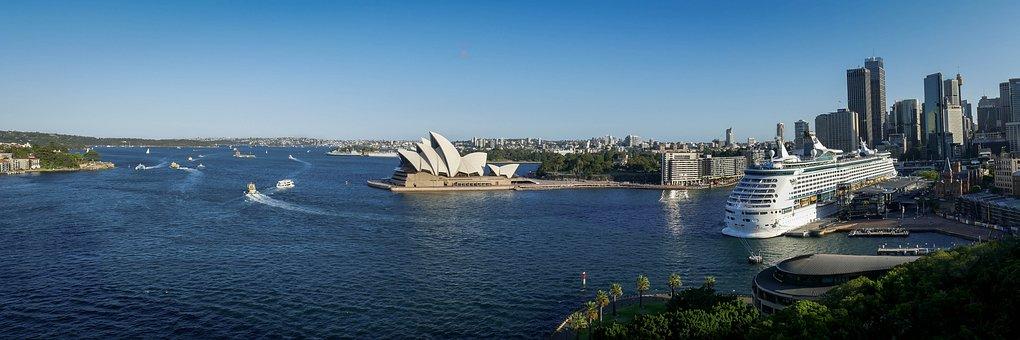 Waters, Sea, Boat, Travel, Panorama, River, Water, Port