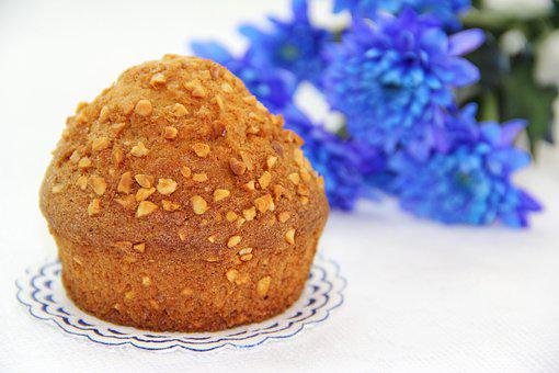 Muffin, Cake, Biscuit, Desktop, Flower, Sweet