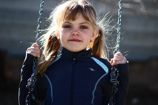 Child, Outdoors, Portrait, People, Fun, Female, Young