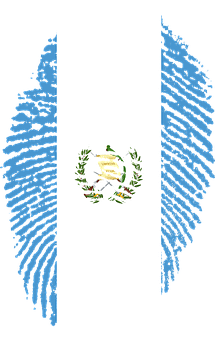 Guatemala, Flag, Fingerprint, Country, Pride, Identity