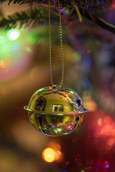 Shining, Winter, Christmas, Ball, Hanging, Decoration