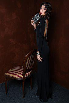 One, People, Grown Up, Woman, Portrait, Fashion, Brunet