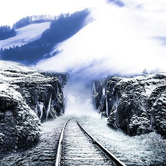 Railroad Track, Railway, Locomotive, Track, Travel
