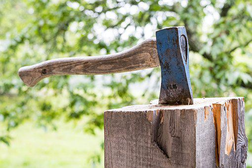 Wood, Nature, Tree, Woods, Axe, Make Wood, Cases