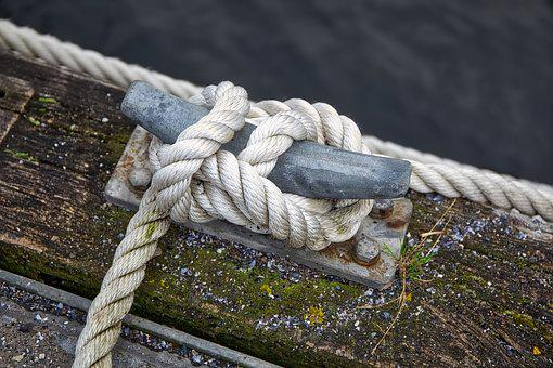 Dew, Knot, Nautical, Wood, Sea, Port, Boats