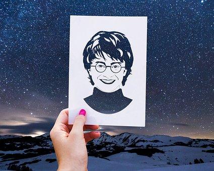 People, Harry Potter, Sky, Stars