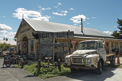 New Zealand, Murchison, Travel, Old, Road, Architecture