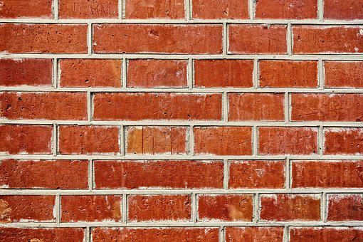 Wall, Brick Wall, Red Brick Wall, Seam, Masonry, Mortar