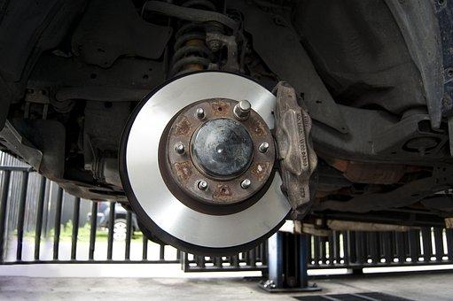 Steel, Automobile, Part, Spare, Pill, Brake, Workshop