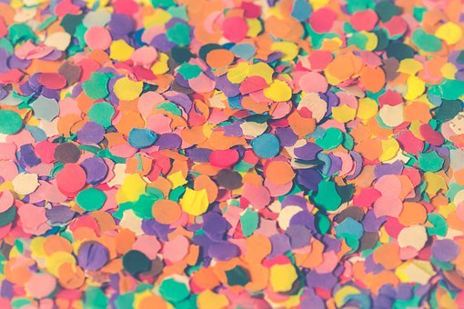Carnival, Pattern, Abstract, Structure, Confetti, Party