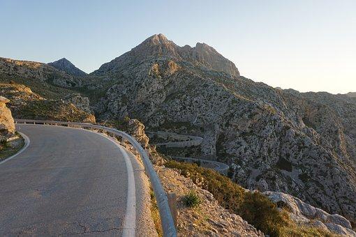 Nature, Mountain, Landscape, Travel, Sky, Mallorca