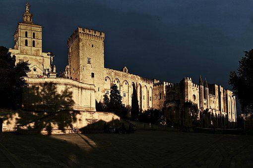 Architecture, Palace, City, Travel, Old, France