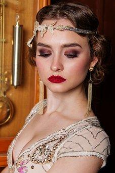 Woman, Portrait, Glamour, Rich, Luxury, Weathy, People