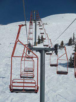 Snow, Winter, Outdoors, Cold, Chairlift