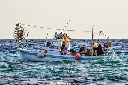 Fishing Boat, Traditional, Sea, Fishing Time, Afternoon