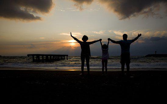 Sunset, Marine, Beach, Family, Filyos, çaycuma, Nature