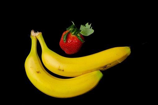 Fruit, Dessert Banana, Food, Healthy, Bless You