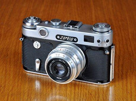 Camera, Old Camera, Dawn, Zorki, Zorki 6, Dawn 6, Photo