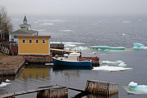 Water, Sea, Travel, Harbor, Boat, Newfoundland, Canada