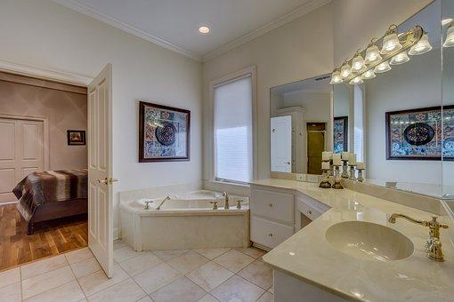 Room, Contemporary, Bathroom, Apartment, House, Bathtub