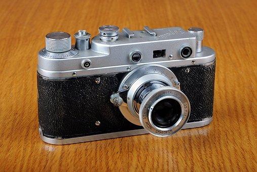 Camera, Old Camera, Dawn C, Dawn, Ussr, Soviet, Russian