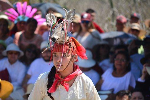 People, Celebration, Crowd, Deer Dance, The Carved