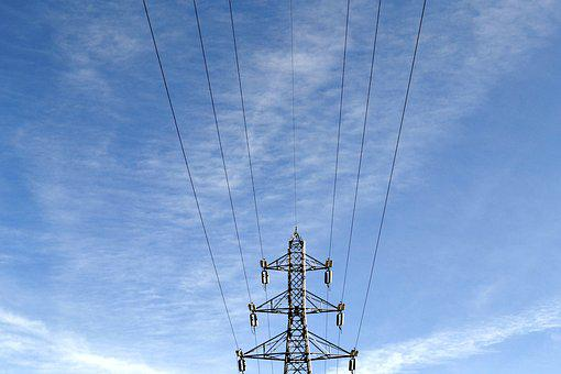 Electrical, Sky, Power, Voltage, Energy, Supply