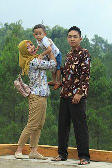 Family, Happy, Child, Mother, Father