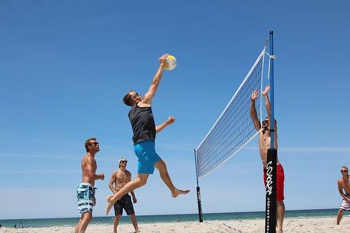 Sea, Summer, Fun, Leisure, Water, Volleyball