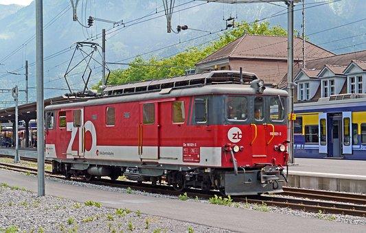 Switzerland, Interlaken, Eastern Railway Station, Hbf
