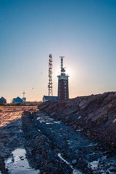 Helgoland, Lighthouse, Radio Mast, Transmission Tower