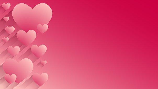 Background, Hearts, Valentine's, Day, Valentine, Love