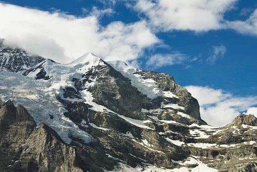 Mountain, Snow, Nature, Mountain Summit, Panorama