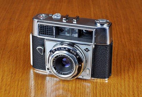 Camera, Old Camera, Agfa, Agfa Optima 500 S, Photo