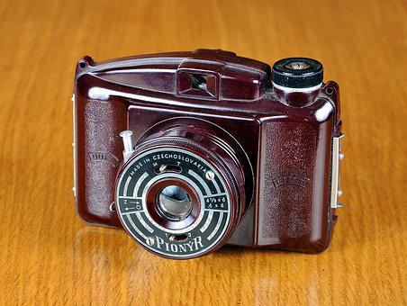 Camera, Old Camera, Pionyr, Czech Republic, Photo