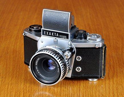 Camera, Old Camera, Exakta, Exakta Vx500, Photo