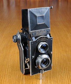 Camera, Old Camera, Welta, Welta Perfecta, Photo, Lens
