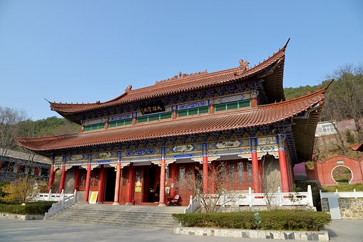 Temple, Pagoda, Tourism, Traditional, Building