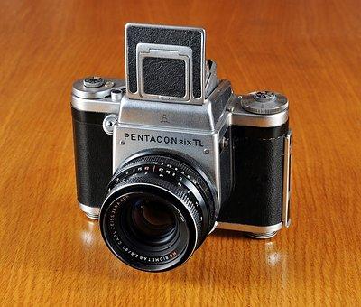 Camera, Old Camera, Pentacon Six, Pentacon, Photo