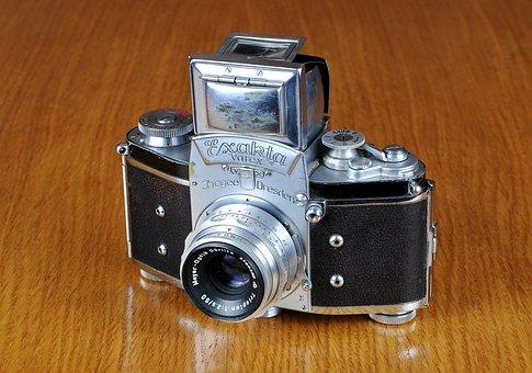 Camera, Old Camera, Exakta, Exakta Varex, Photo