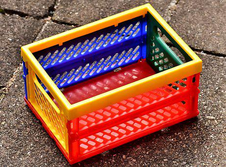 Shopping Basket, Colorful, Color, Shopping, Purchasing
