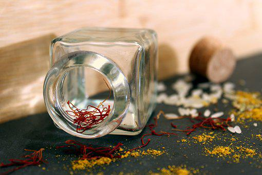 Saffron, Rice, Curry, Paella, Spice, Market, Taste