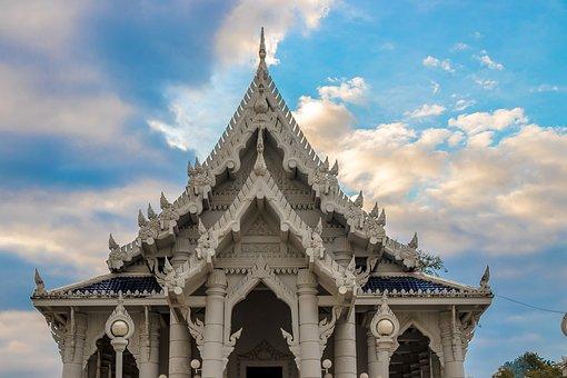 Architecture, Travel, Religion, Sky, Temple