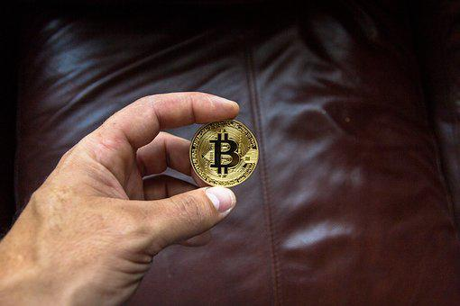 Hand, Gold, Cryptocurrency, Money, Finance, Virtual