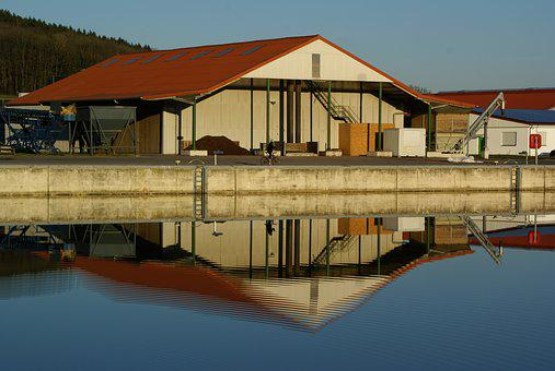 Warehouse, Waters, Waterways