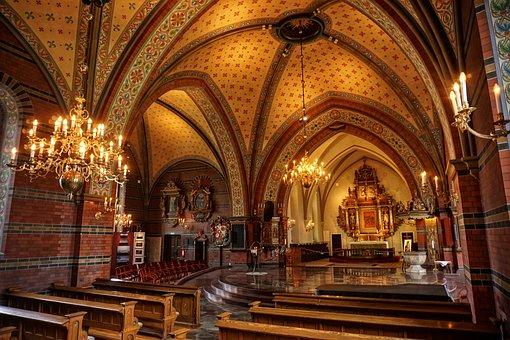 Church, Within, Altar, Cathedral, Religion, Faith